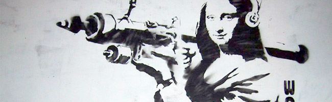Banksy Monalisa